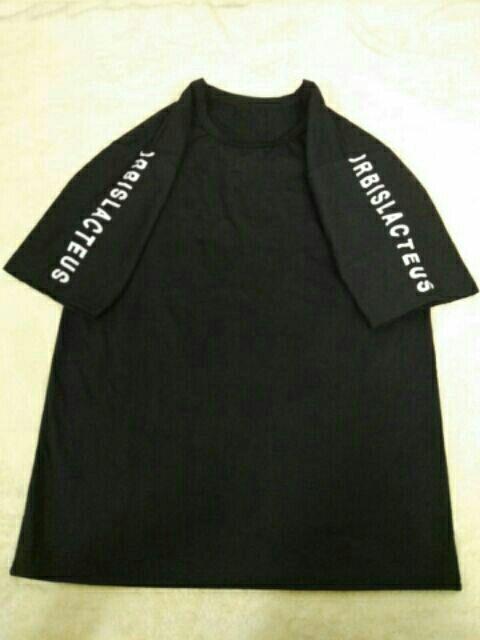 Áo thun nữ tay ngắn in chữ - B7509