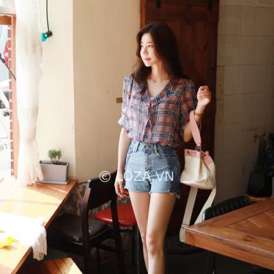 10 mẫu áo sơ mi nữ Hàn Quốc không thể bỏ qua hè 2018