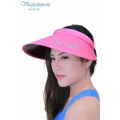 Mũ chống nắng ,Mũ kẹp chống tia UV Hàn Quốc Romantic