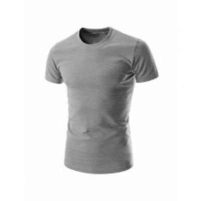 Áo thun nam body cổ tròn 100% COTTON ( xám )