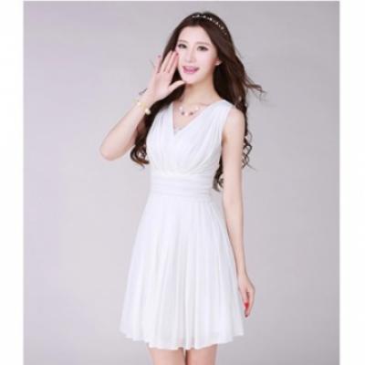 Đầm xòe xếp ly duyên dáng Nuna
